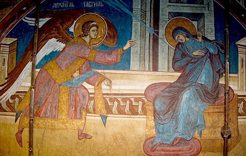 Byzantine Annunciation