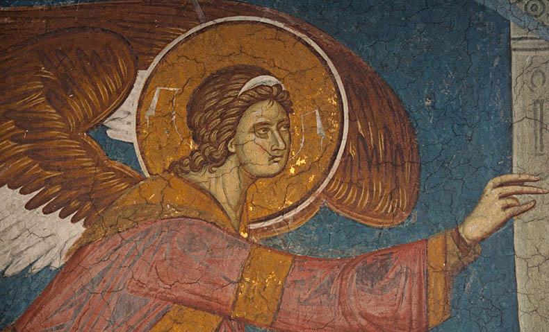 Archangel Gabriel from the Annunciation