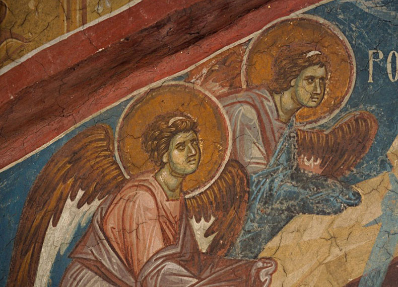 Angels of the Nativity from Serbia