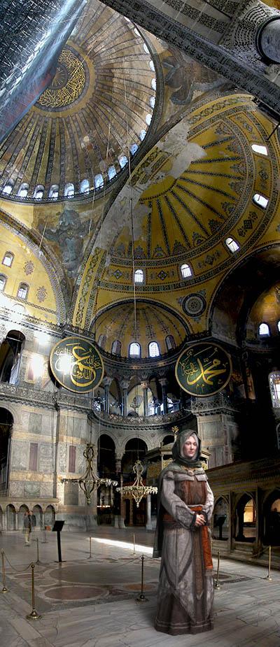 Ghosts of Hagia Sophia