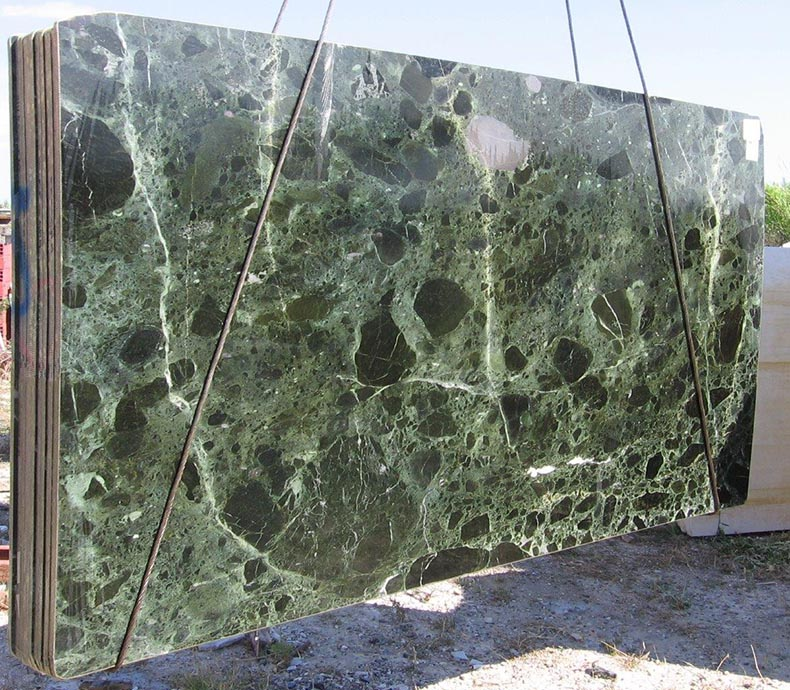 slabs of verde antique - antico