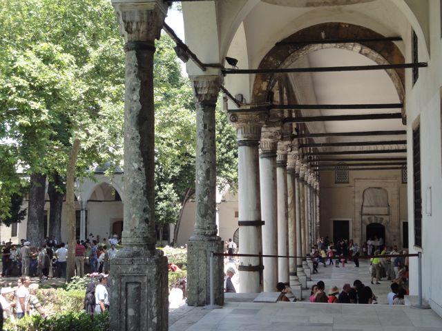 Sanctuary Columns from Hagia Sophia?