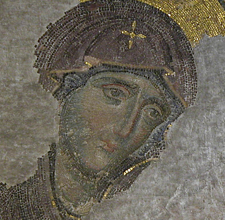 theotokos hagia sophia deesis