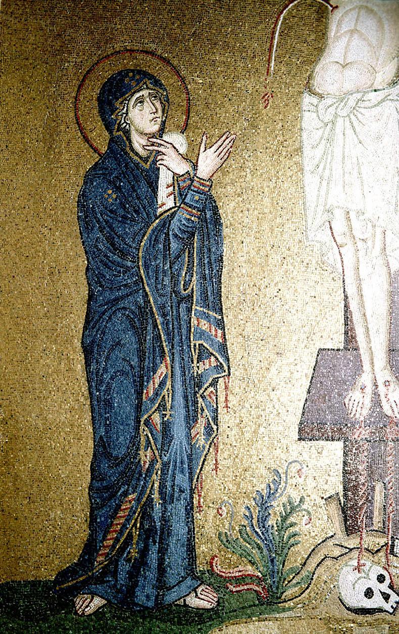 Theotokos from Daphni
