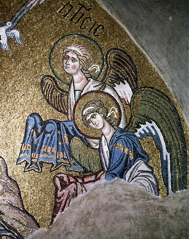 Angels from the Baptism - Daphni Church