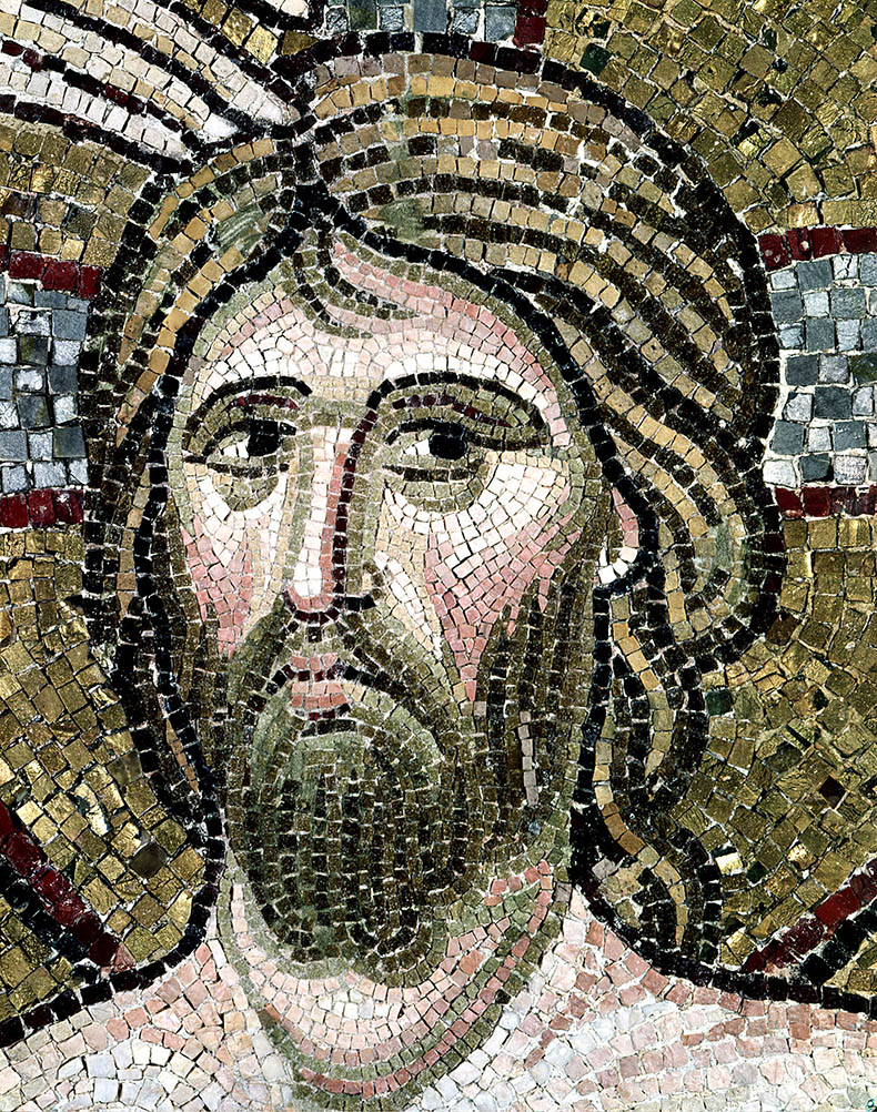 Head of Christ - Daphni Monastery