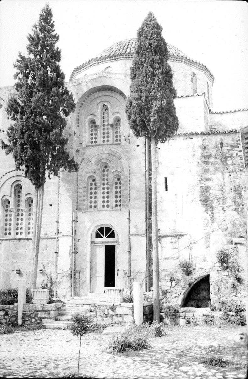 Facade of Daphni Monastery Church