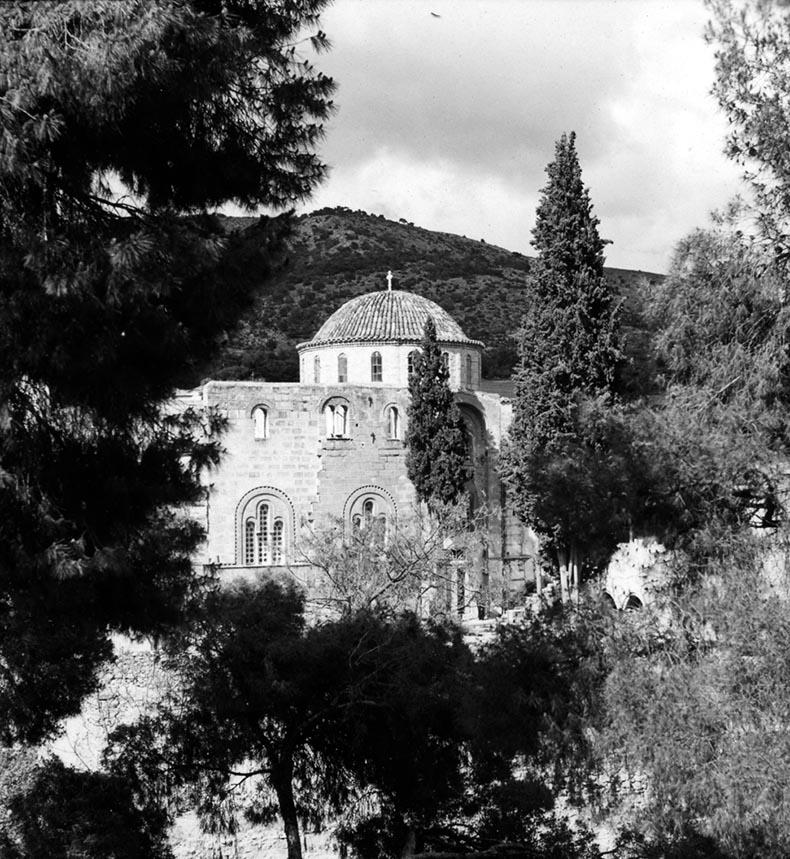 The Enclosure Wall at Daphni Monastery