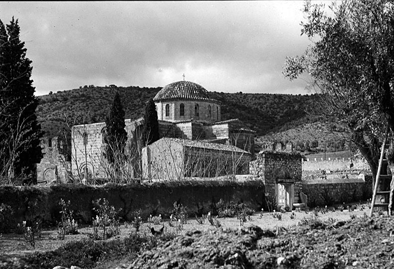 Exterior View of Daphni Monastery