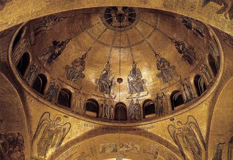 Dome with Pentecost from San Marco