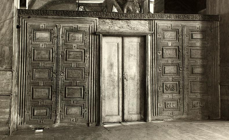 Marble Partition in the South Gallery