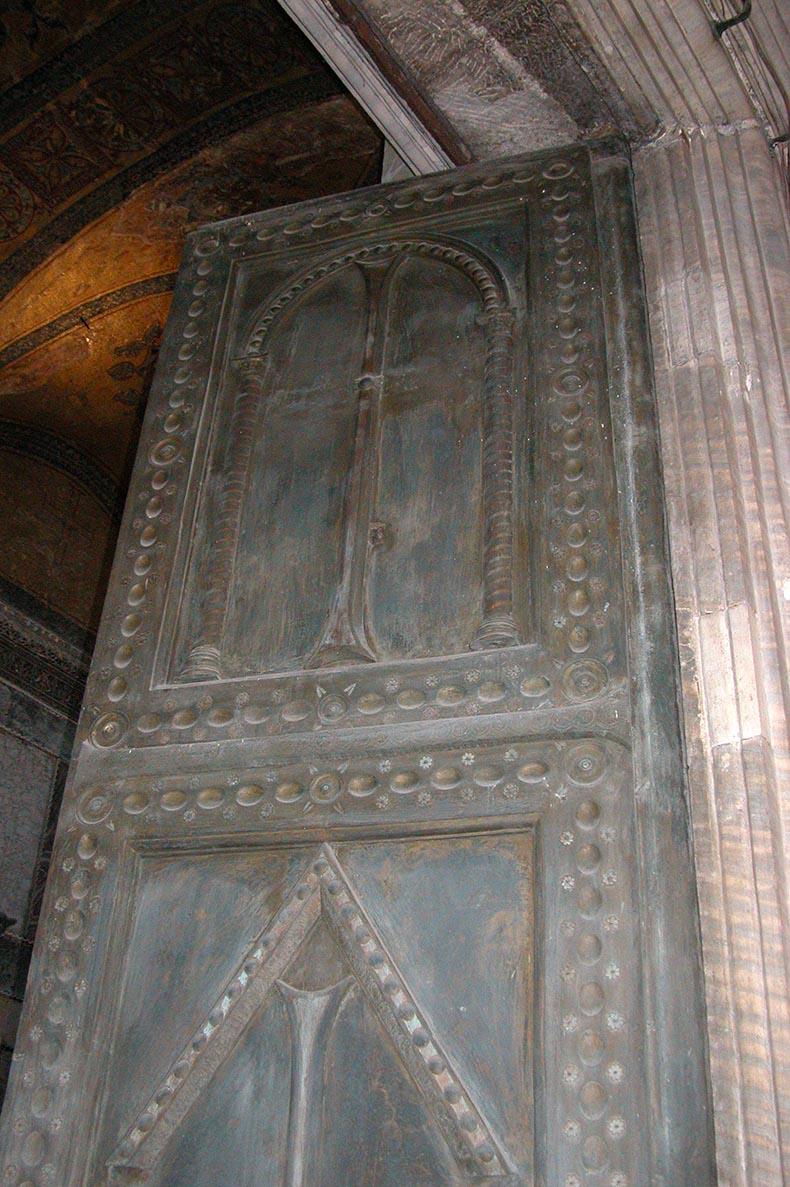 Hagia Sophia - Pair of Bronze Doors
