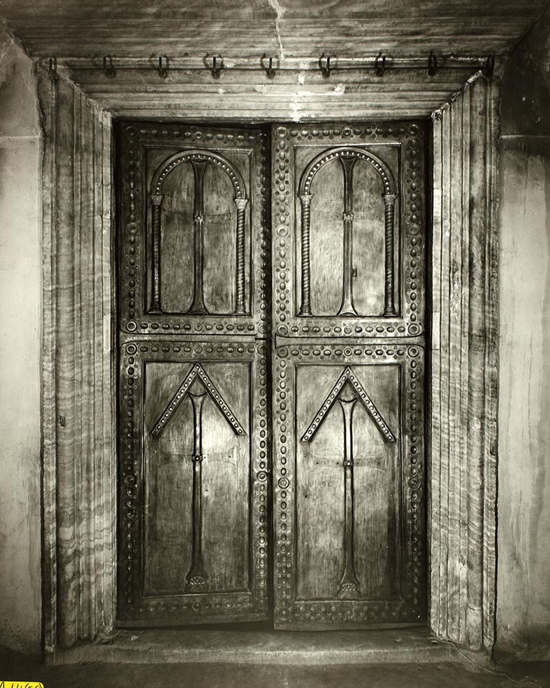 Byzantine Bronze Doors in Hagia Sophia