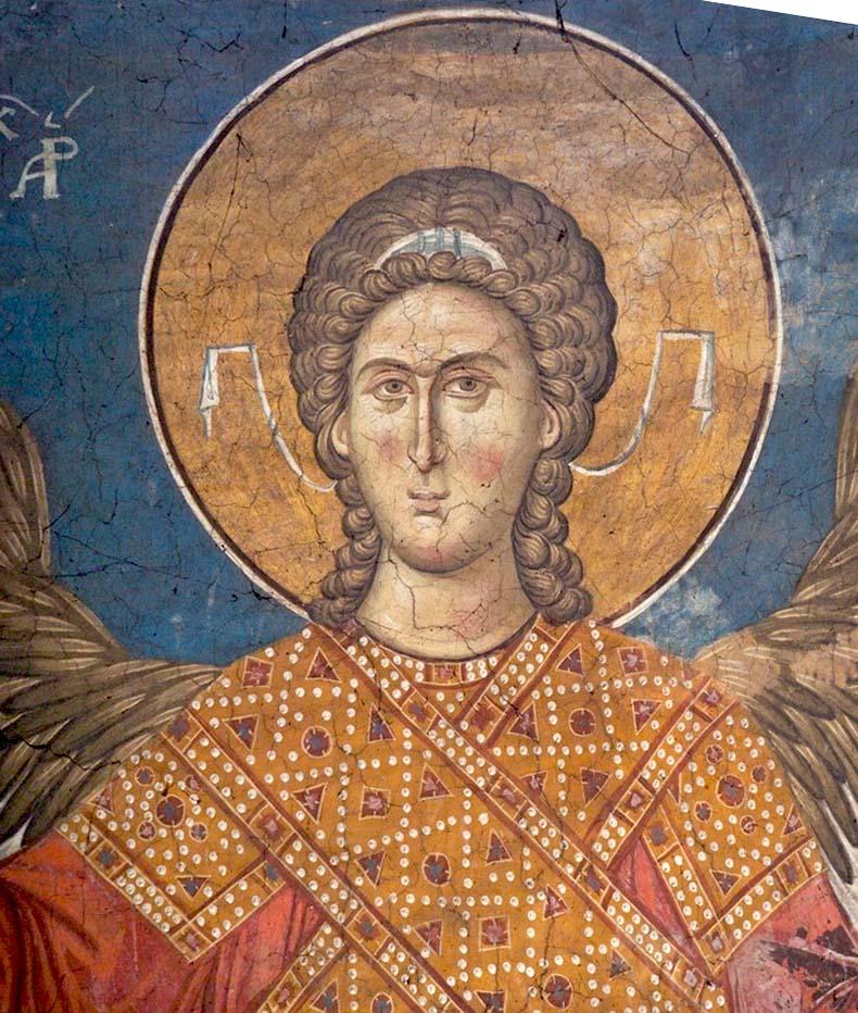 Head of a Byzantine Archangel