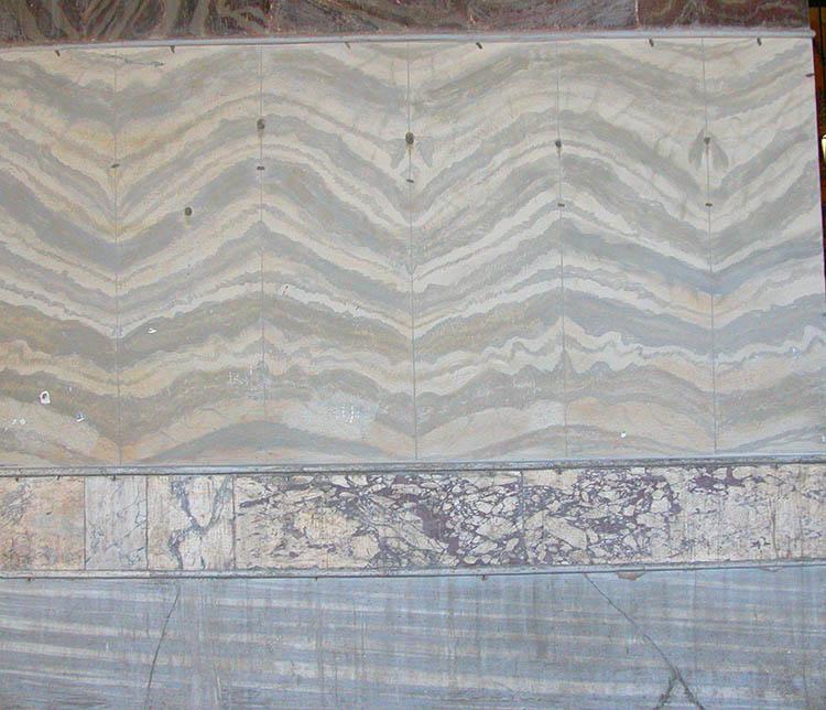 South Gallery Marble Revetment Hagia Sophia