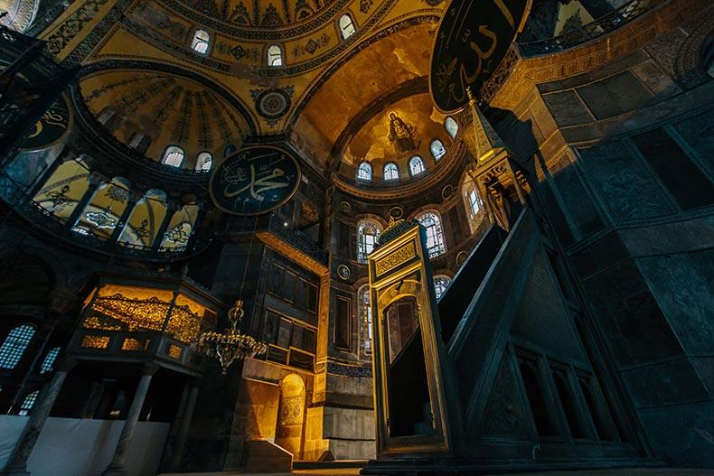 Hagia Sophia Ghosts