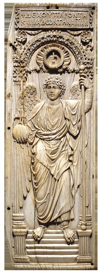 Byzantine Ivory Archangel