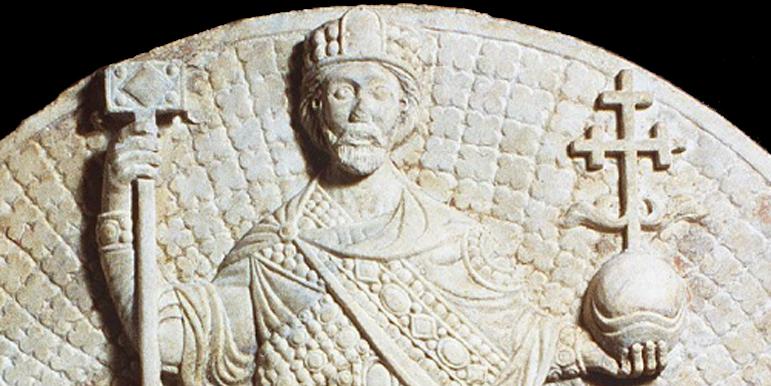 Marble Relief of John II Comnenus