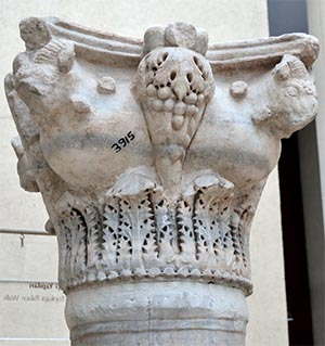 Capital from the Mangana Palace