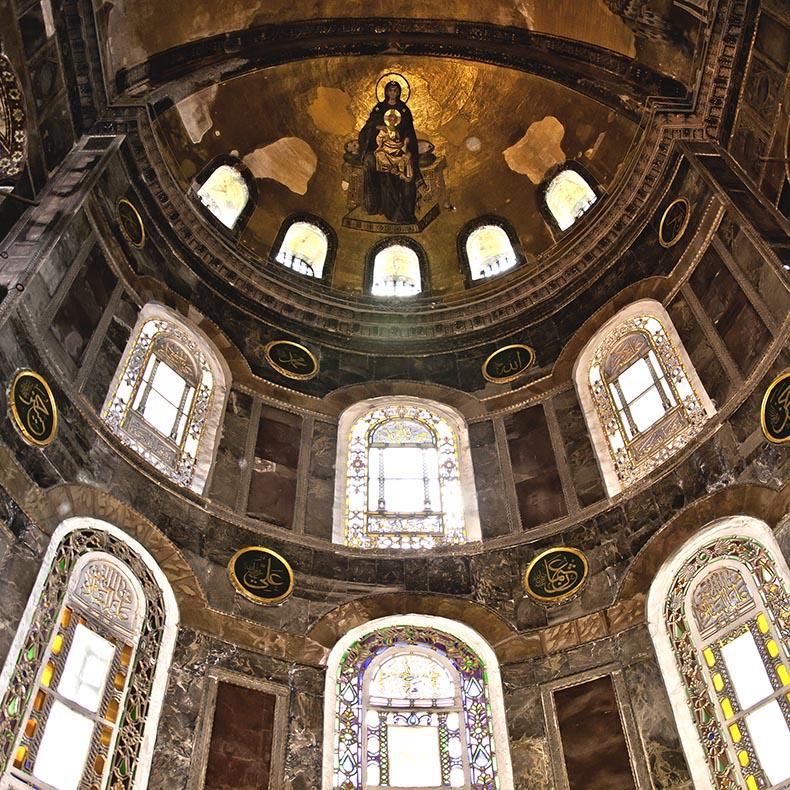 View apse of Hagia Sophia