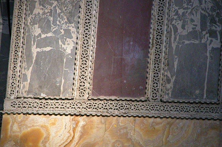 Onyx Revetment in Hagia Sophia