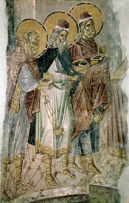 Fresco in Pammakaristos Church in Istanbul