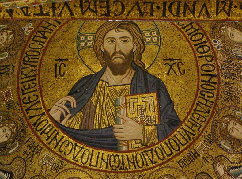Pantokrator from the Capella Palatina
