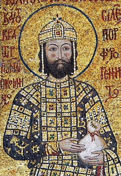 John II Komnenos in Hagia Sophia
