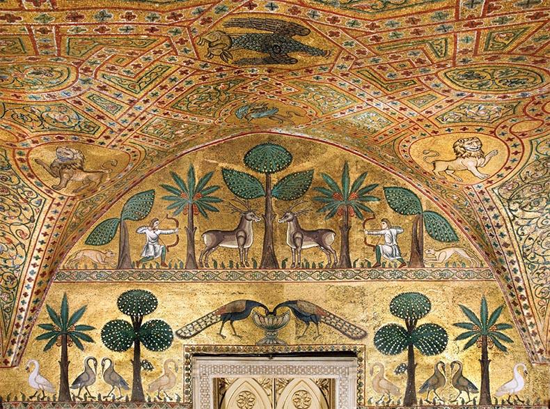 Royal Palalce Palermo Byzantine Mosaics
