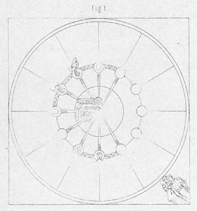 Saltzenberg drawing Haghia Sophia