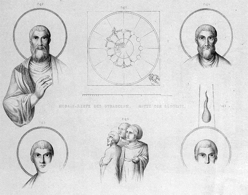 Salzenberg drawing of Pentecost