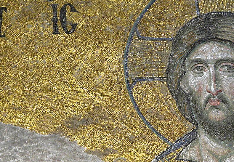 Background mosaic pattern Hagia Sophia