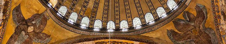 Compare wing tips Seraphim Hagia Sophia