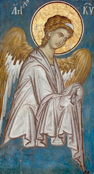 Byzantine Angel from Serbia