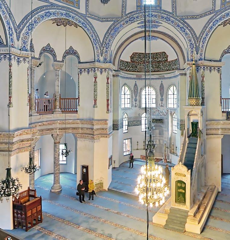 Interior of Saint Sergius and Bacchus