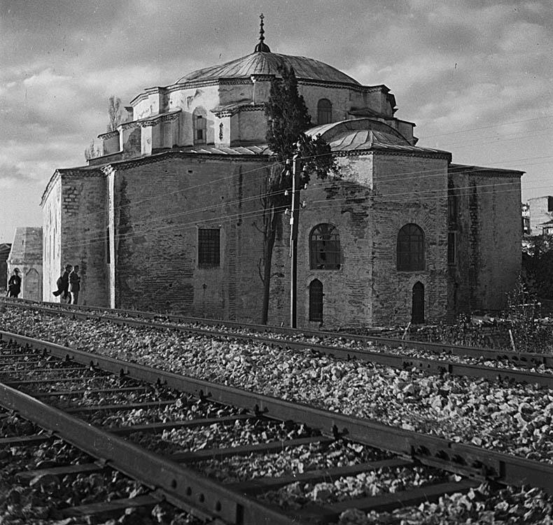 Sergius and Bacchus train tracks