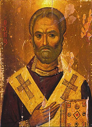 Saint Nicholas from Sinai