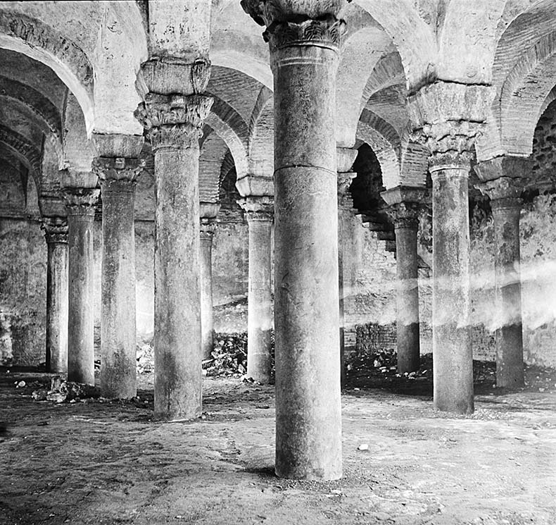 Columns Cistern Imrahor Djami John Stoudios