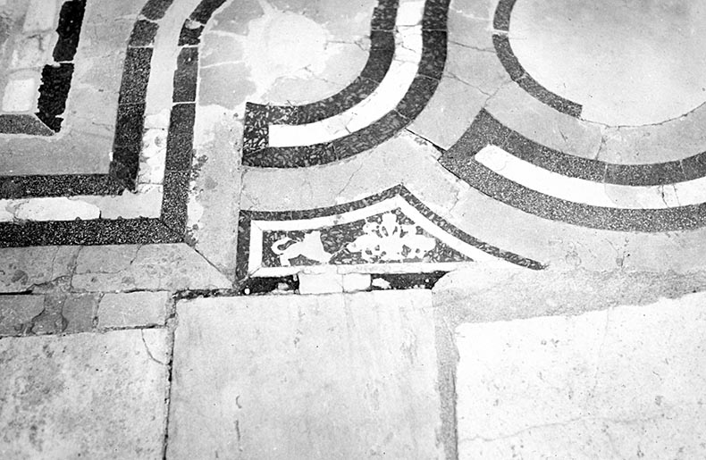 Inlaid floor Church of John the Forerunner