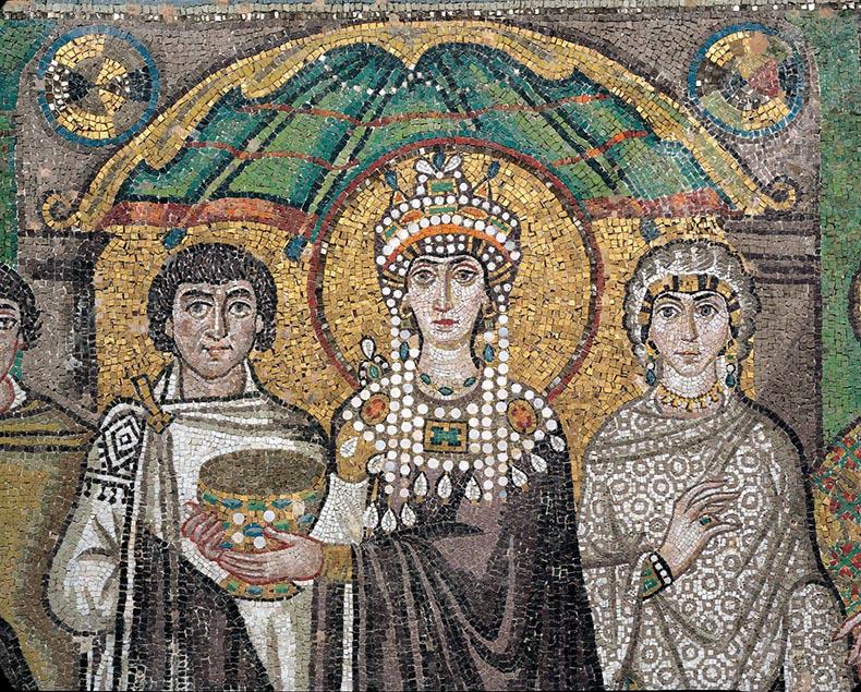 Theodora and her Court