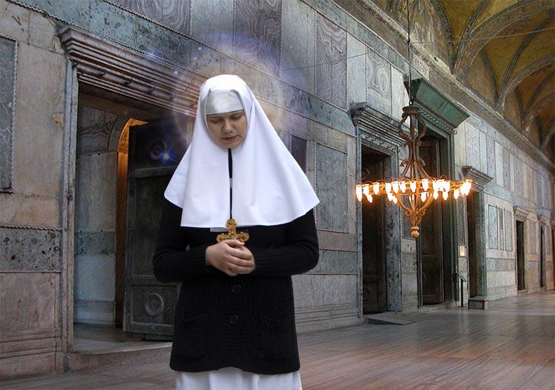Saint Theodosia in Hagia Sophia