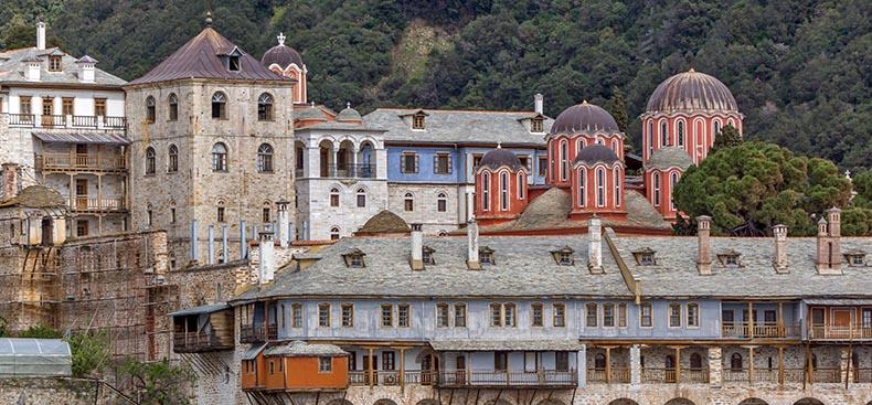 Mt. Athos Monastery - George Mangana