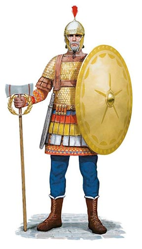 Viking Guard in Hagia Sophia