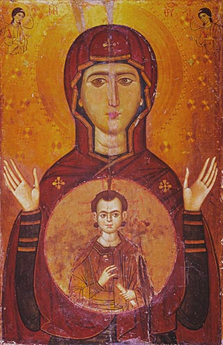 Icon of Theotokos Blachernitissa