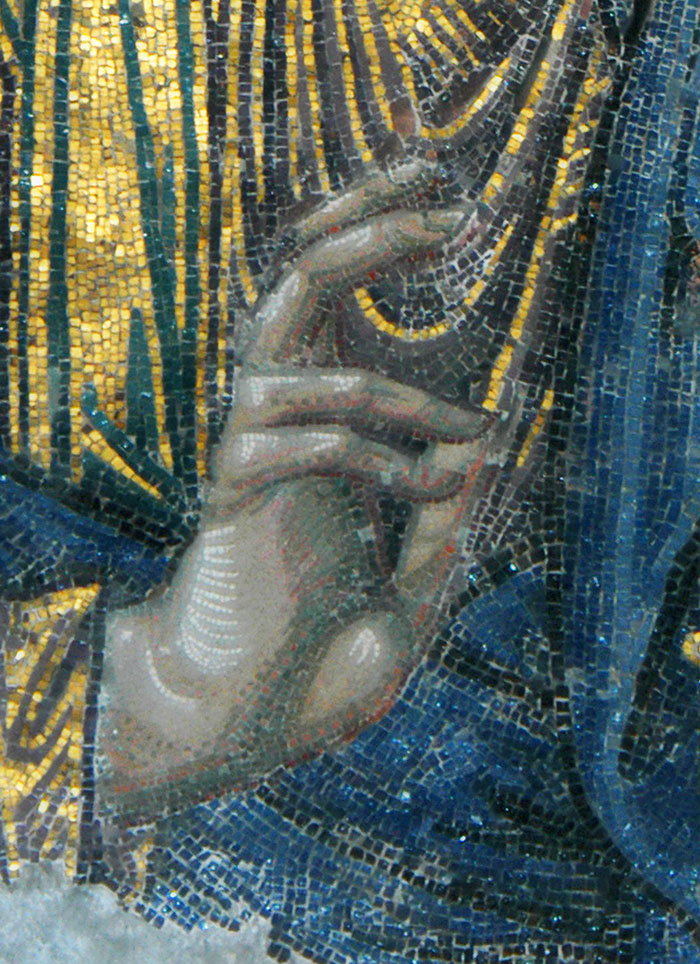 Hand of Jesus Christ