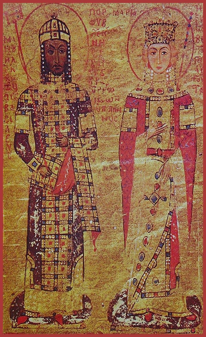 Manuel I Comnenus and Maria