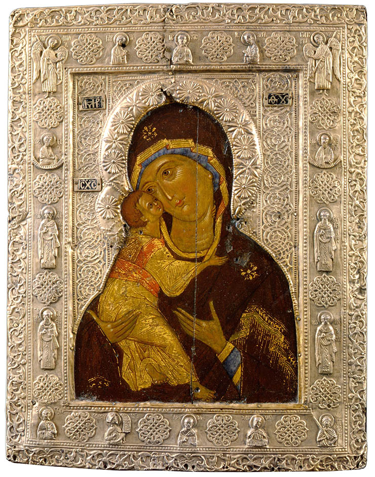 Copy of Our Lady of Vladimir Madonna