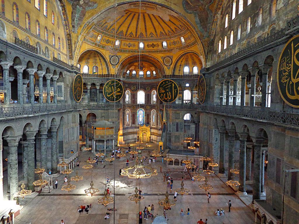 Nave of Hagia Sophia
