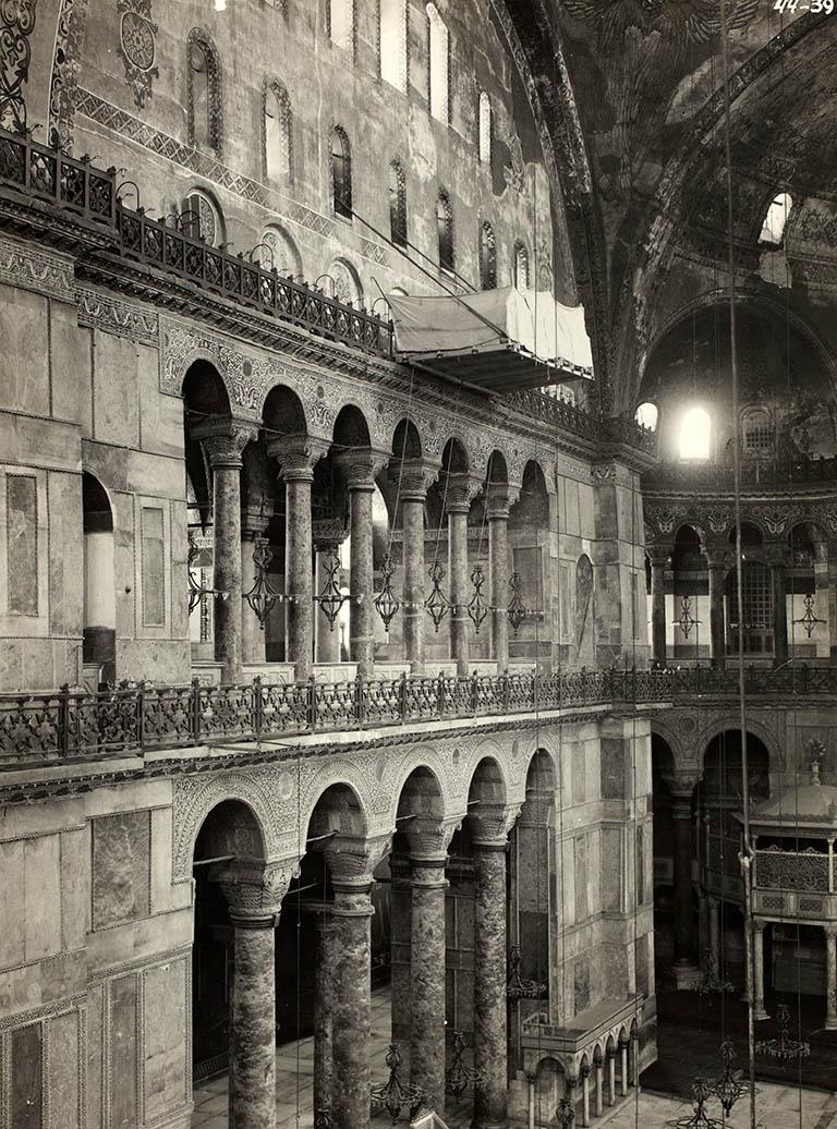 North Side - Nave Hagia Sophia 1935