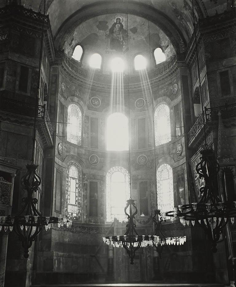 Apse Hagia Sophia 1935